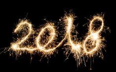 Lataa kuva Uusi Vuosi, 2018, ilotulitus, valot, 2018 käsitteitä