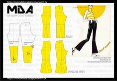 ModelistA: A4 NUM 0067 PANTS