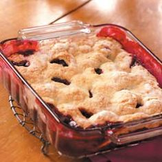 Award Winning Blackberry Cobbler Recipe from Taste of Home