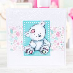 Shop the adorable @tatteredlaceuk Charisma Teddy Die now in a multibuy at C&C: http://www.createandcraft.tv/349287 #cardmaking #papercraft