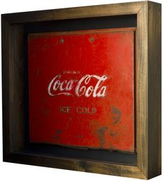 Coca Cola (Shadowbox Art)