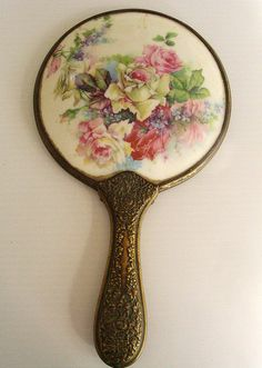 Vintage Handheld Mirror | Flickr - Photo Sharing!