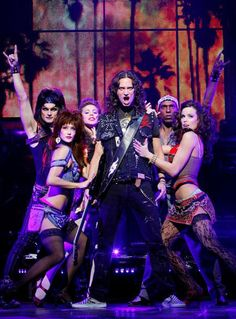 Rock of Ages on Broadway...I want to see this so bad!!