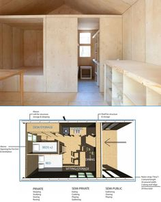 6 Hours + 2 Adults = 1 Post-Disaster Prefab 5-Person Home   •   After five years of transitional occupancy, its recyclable materials can be scrapped and reused entirely, re-purposed as a whole or form the basis for expansions and additions into a longer-term residence.