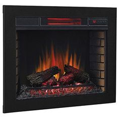 Electric Fireplace Inserts | Built In Electric Fireplaces | Electric Log Inserts