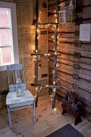 Image about vintage in Decoration by Röö on We Heart It Tiny Log Cabins, Log Wall, Framed Tv, Interior Decorating, Interior Design, Cabins In The Woods, Home Furniture, Sweet Home, Rustic