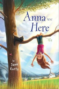 Anna Was Here by Jane Kurtz: Anna Nickel's worst nightmare came true when her father decided to move the family back to Oakwood, Kansas in order to become the minister of the church. New friends, new school, a new community, and a family of strangers await, and its in the middle of Tornado Alley.
