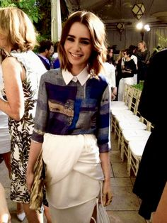 Lily Collins | CDFA Vogue | Oct. 2013 Chateau Marmont. | I LOVE HER STYLE! Everything about it is so perfect.