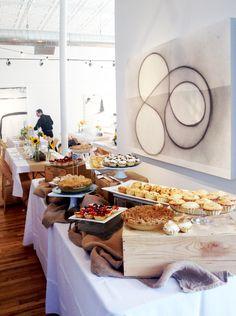 Sarah & Matthew's art gallery wedding reception | Artwork Network | Denver