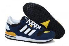 Adidas ZX 700 Scarpe da Donna E Uomo Navy Scuro / Blu Notte / Nero / Bianco / Giallo online shop italia