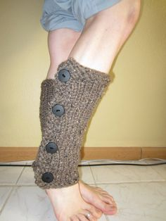 Knit Chunky Brown Leg Warmers by mylittlehats on Etsy Soft Legs, Black Button, Leg Warmers, Choices, Knit Crochet, What To Wear, Cinderella, Women Wear, Hair Beauty