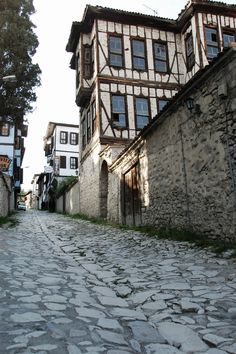 Traditional and History Turkish Houses - Safranbolu, Turkey