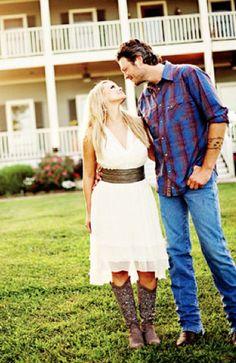 My favorite country couple, Blake & Miranda!