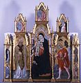 Giovanni di Paolo - Virgin and Child with Saints - Walters 37554.jpg