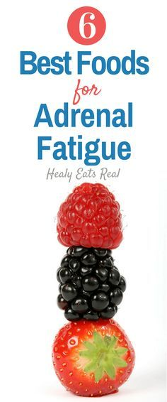 6 Best Foods for an Adrenal Fatigue Diet- What are the best foods for your adrenal fatigue diet? Learn about which foods you should include in your daily diet to help reverse adrenal fatigue.
