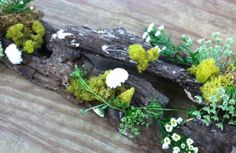 Woodland Wedding Centerpiece Sample Indianapolis, IN