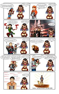 Oh my god, so true! Every single one of them has pissed me off at some point in the game. :p except Varric...