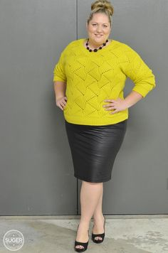 Stylish Plus-Size Fashion Ideas – Designer Fashion Tips Plus Size Girls, Moda Plus Size, Plus Size Women, Curvy Girl Fashion, Modest Fashion, Plus Size Fashion, Pretty Outfits, Cool Outfits, Skirt Outfits
