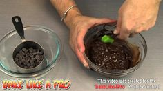 How To Temper Chocolate ! / How to temper chocolate chips