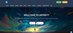 Art communities - best websites to showcase artwork - BrushWarriors Art Websites, Jobs In Art, Popular Art, 3d Artist, Make New Friends, Home Pictures, Video Game Art, Music Notes, Community Art