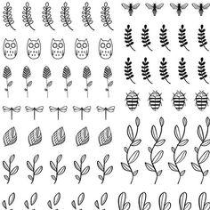 Bourjois.fr - Calligraphic Nail Tattoos