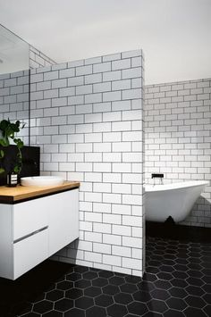D-monochrome-bathroom-hexagon-floor-tiles