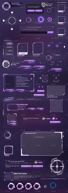 MMO RPG - Full Mafia Game UI by anchor_point_heshan | GraphicRiver