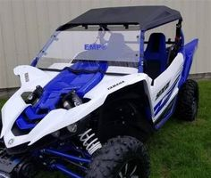EMP Yamaha YXZ Hard Coated Full Windshield