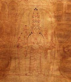 Avalokiteshvara - Namka Gyalpo (Gaganaraja)