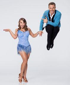 "Dancing With the Stars  -  Derek Hough & 17-year-old Bindi Irwin  -  danced a jive routine to Elton John's ""Crocodile Rock""  -  scoring 8+8+8 + 24  -  Season 21  -  week-1  -  Sept. 14, 2015"