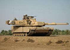 Abrams Main Battle Tank of the U.S. Army and Marines.