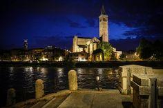 Sant'Anastasia dalla sponda dell'Adige