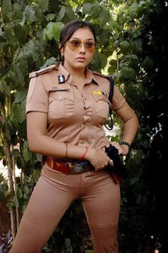 Sexy Namitha Kapoor: Namitha sexy and hot in police uniform