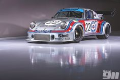Porsche 911 Carrera RSR Turbo the first monster - Total 911 Porsche Rsr, Porsche 911 Carrera 4s, Cowgirl Photo, Martini Racing, 911 Turbo, Courses, Le Mans, Nascar, Race Cars