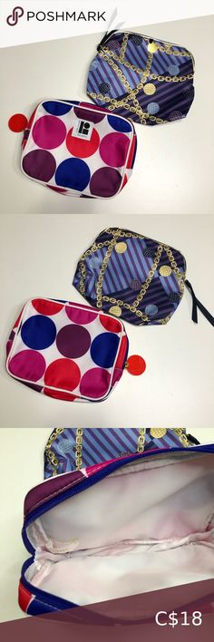 Estee Lauder Cosmetic Pouch x2 Both in like new condition. Estee Lauder Bags