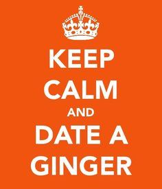 Keeping your cool when dating a ginger