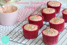 Thermomix Strawberry Frosting