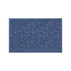 WaterGuard Fall Day Indoor Outdoor Mat, Blue