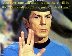 Spock's Advice To A Teenage Girl (is still applicable today).