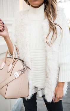 Fashion Style Winter White Outfit