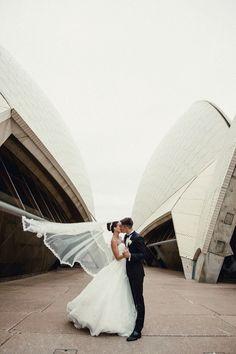 Wedding photography Sydney Opera House @weddingmag @doltonehouse @pronovias