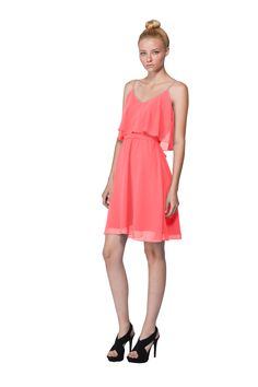 Joanna August Dani Short Bridesmaid Dress | Weddington Way $225 or something like this @JessandAdalie Watkins Watkins