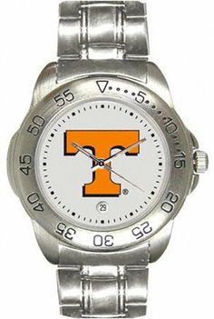Tennessee Volunteers Men's Sport ''Game Day Steel'' Watch by SunTime. $64.99. This attractive and durable watch features a scratch resistant crystal, stainless steel rotating bezel and steel strap, and a quartz accurate movement. Also includes date feature. 1 year limited manufacturer warranty This Product Makes a Great Holiday Gift!
