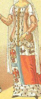 14th century Heraldric costumes
