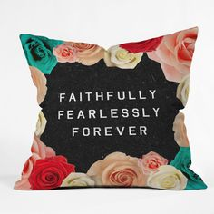 Wesley Bird Forever Throw Pillow