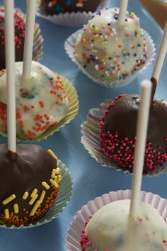 These Frozen Cake Pops Will Make Any Birthday Party A Blast All You Need Is Breyers BLASTS Flavor Your Favorite Ice Cream Sauces