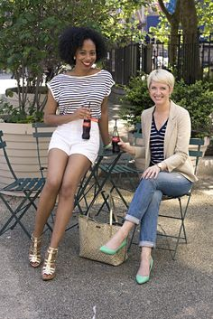 Our Style File: Two-Ways Tuesday: A Star & Stripes