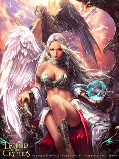 #AweSomEilluStrationS Angeles legend of the cryptids