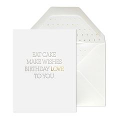 BIRTHDAY LOVE TO YOU CARD