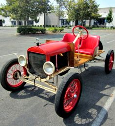 This is a speedy one! 1919 Ford Model T Speedster on GovLiquidation.